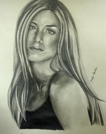 Jennifer Aniston by Sillulillu